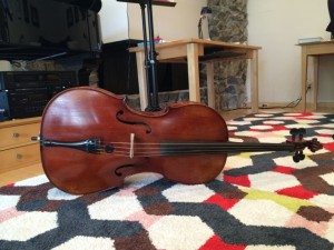 Daddy's cello