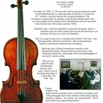 "Red ""Mendelssohn"" Violin by Antonio Stradivari  My favorite"
