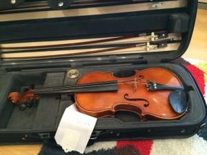 Student Violin by T.G. Pfretzschner