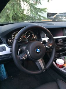 2014 - 535d  M-package Steering Wheel